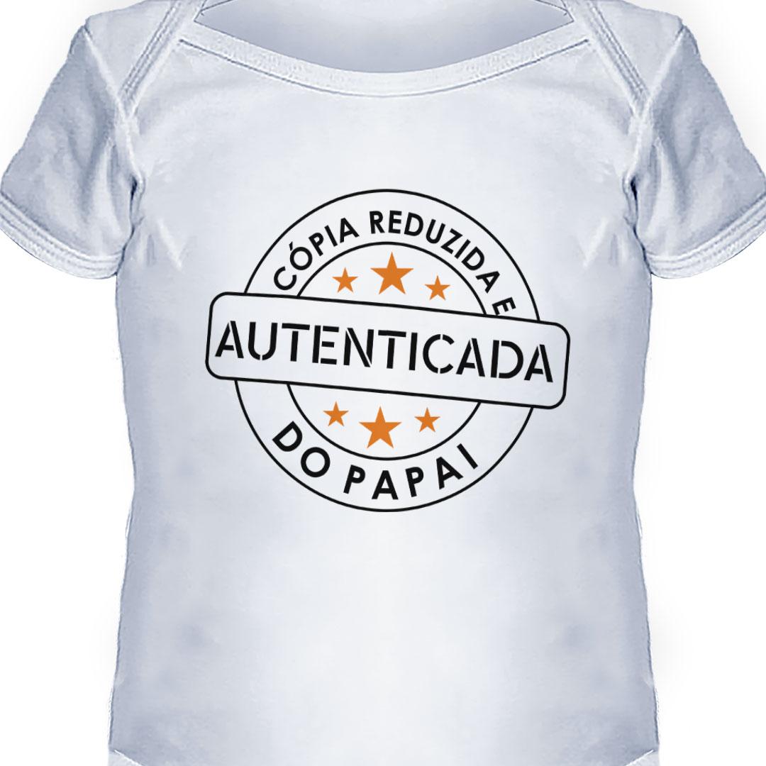 Body Infantil - Cópia Autenticada do Papai