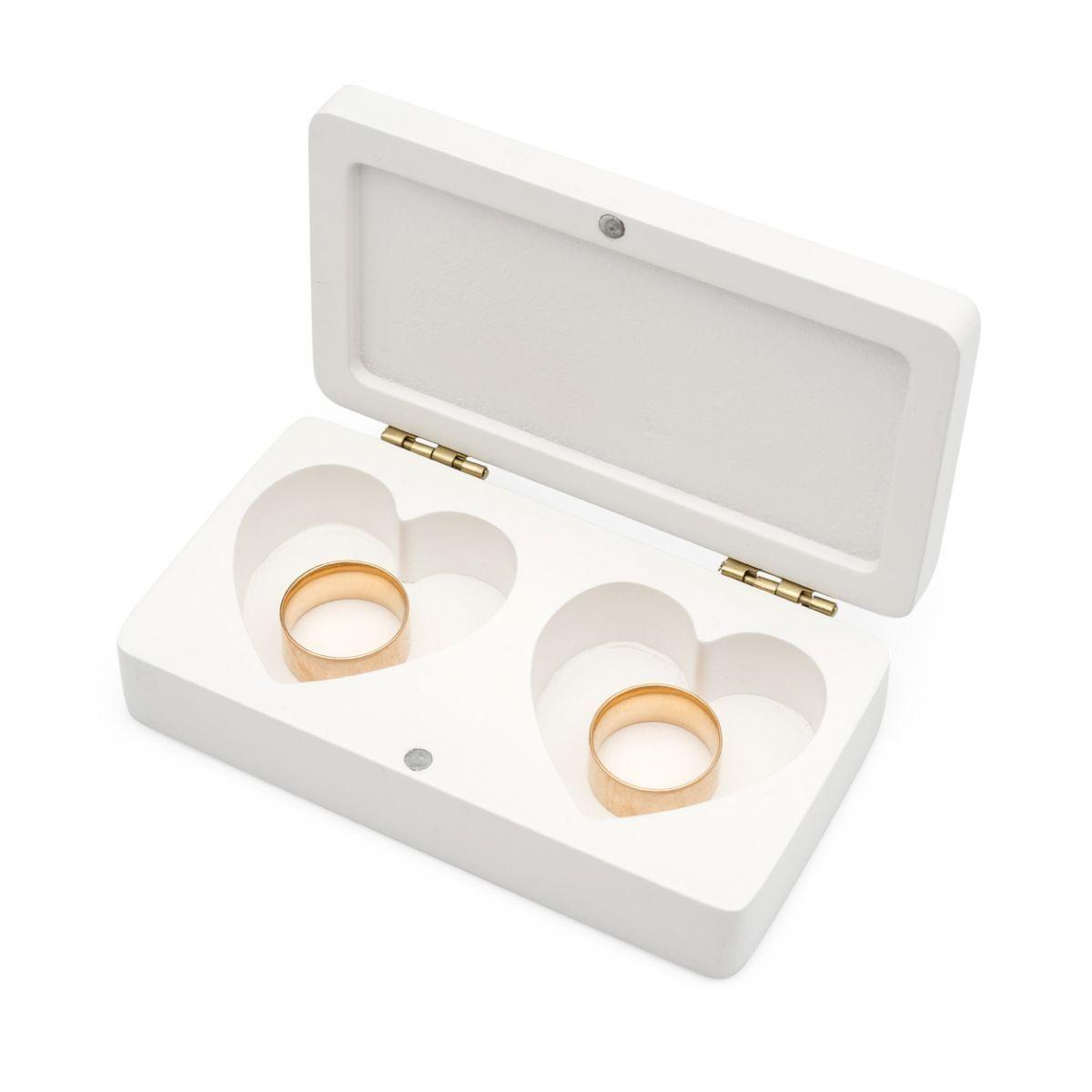 Caixa Porta-Alianças - Casamento