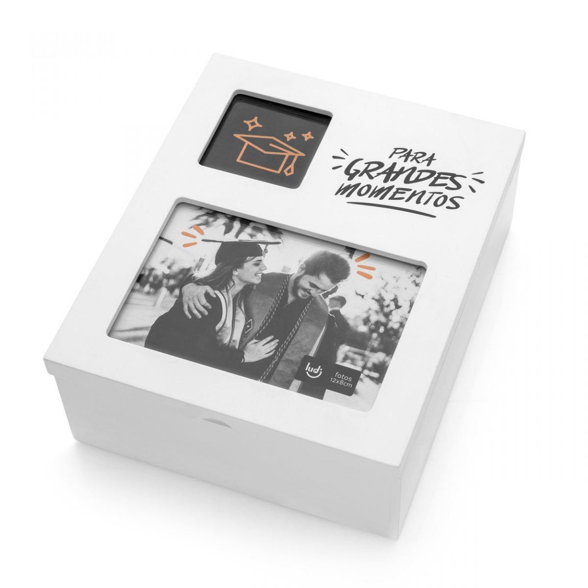 Caixa Porta Lembranças com Foto Formatura