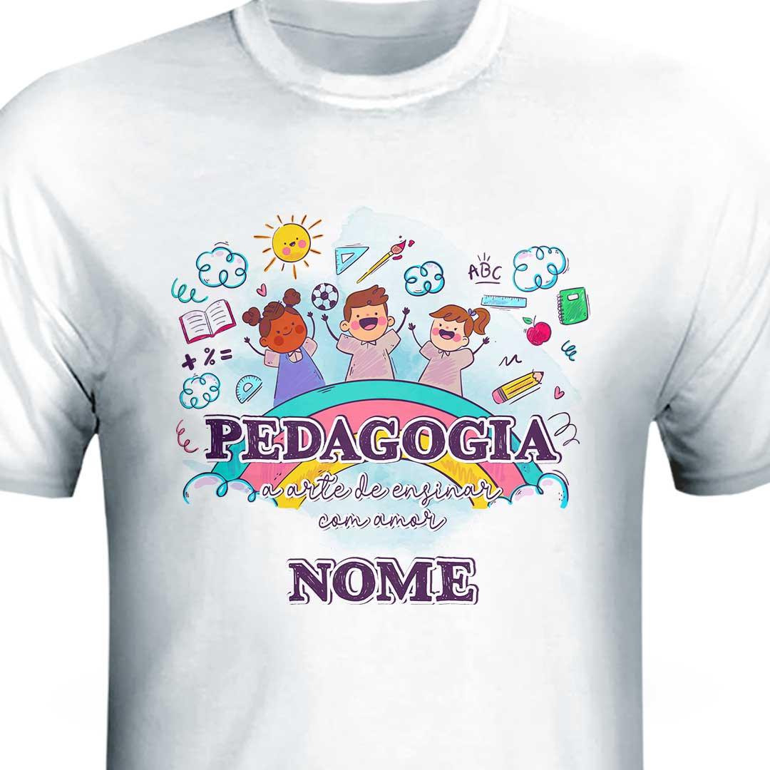 Camisa com Nome - Pedagogia