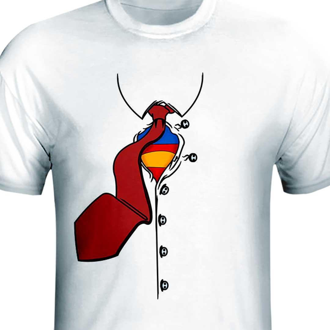 Camisa - Disfarce Super Pai