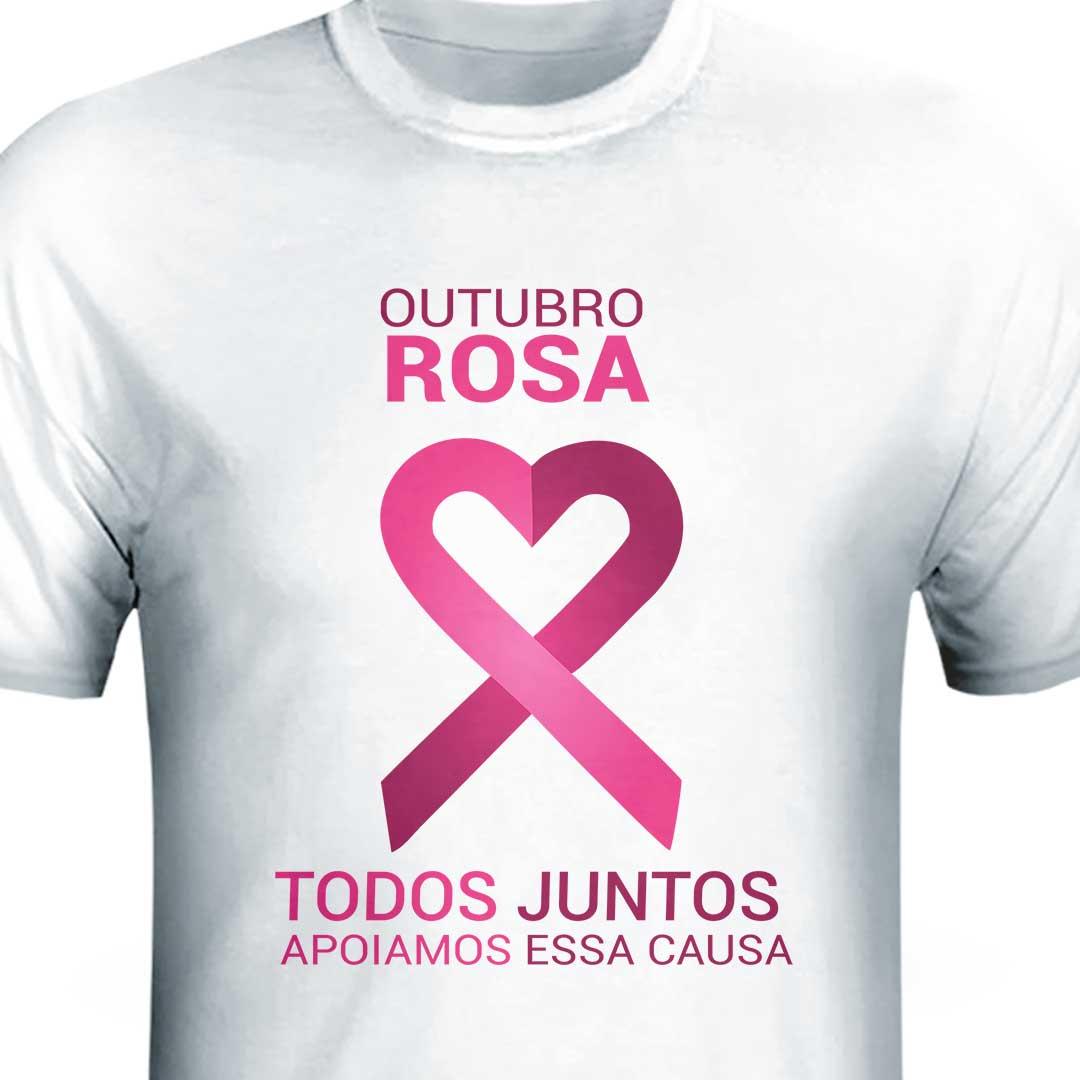 Camisa - Outubro Rosa Todos Juntos II