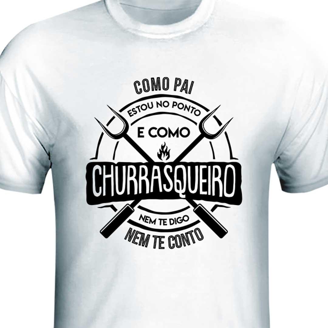 Camisa - Pai Churrasqueiro