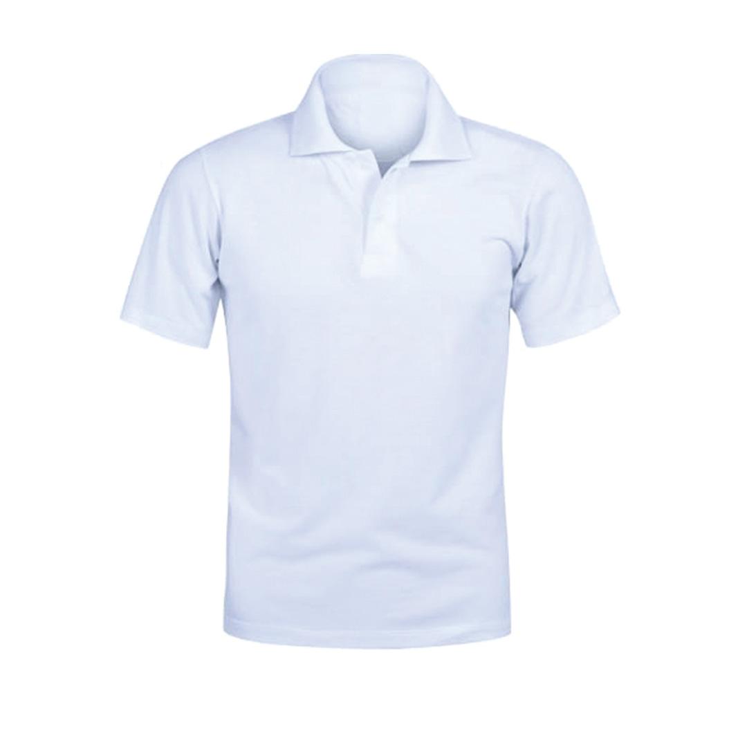 Camisa Polo Personalizada - Branca