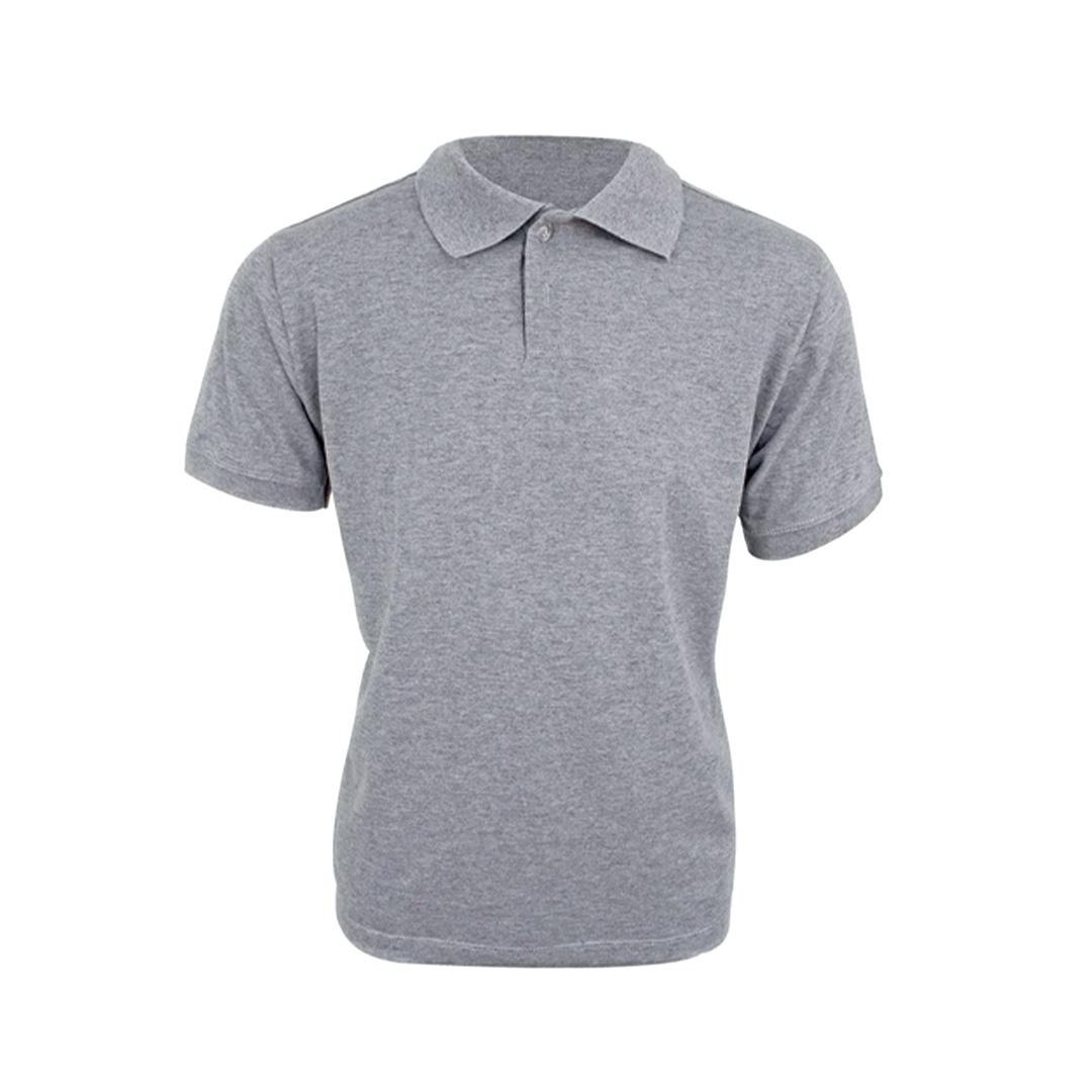 Camisa Polo Personalizada - Cinza