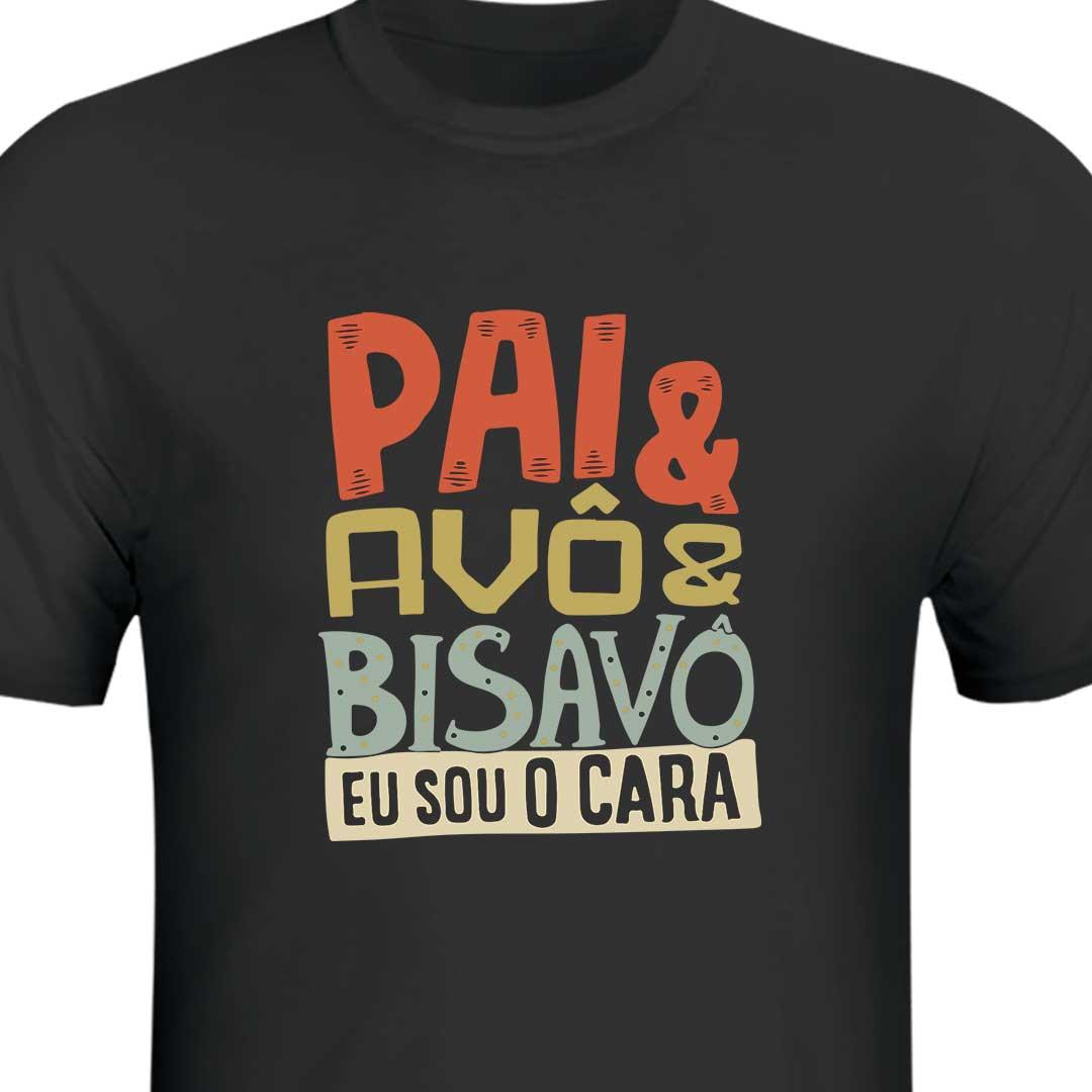 Camisa Preta - Pai, Avô e Bisavô