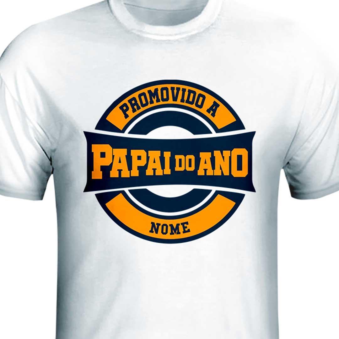 Camisa - Promovido a Papai do Ano