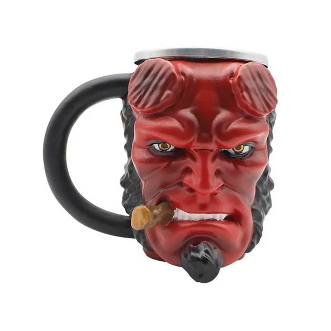 Caneca 3D - Hellboy