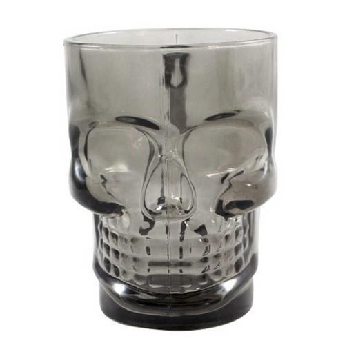 Caneca Caveira Skull Mug - Preta 500ml