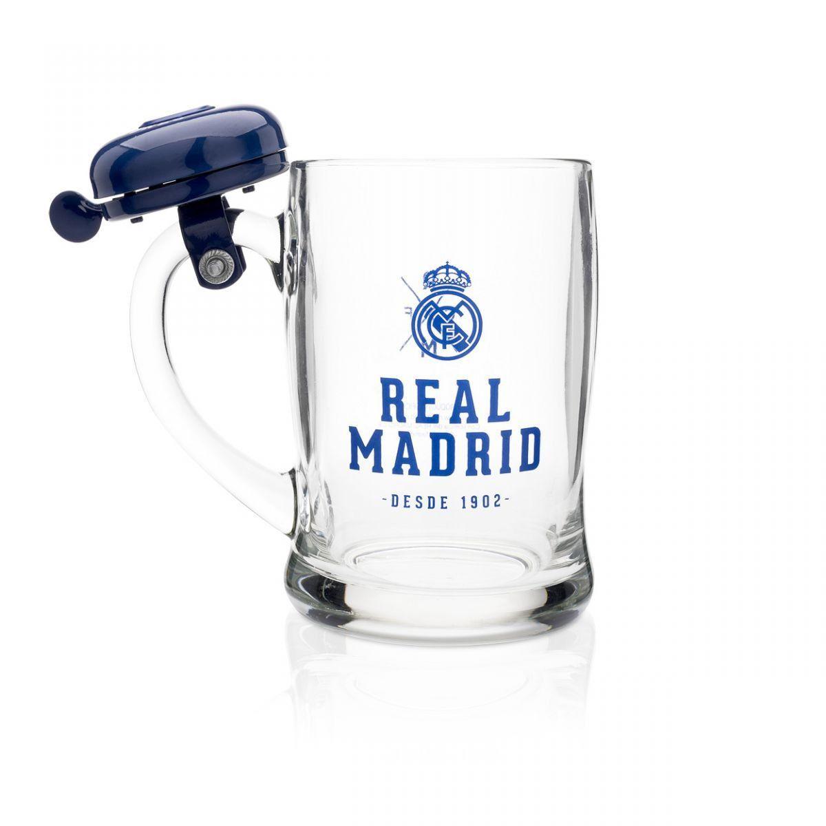 Caneca com Campainha - Real Madrid