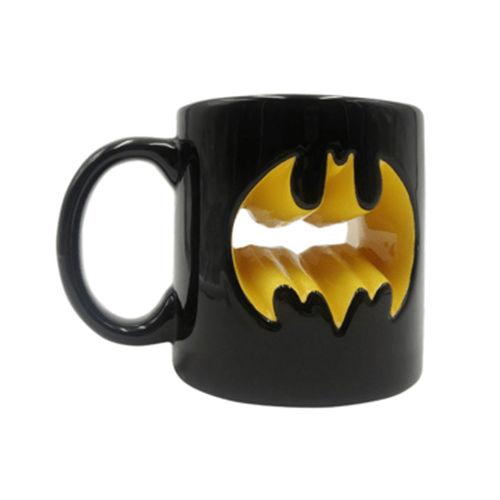 Caneca Decorativa- Batman Logo Vazado