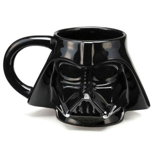 Caneca Formato Darth Vader 3D STAR WARS