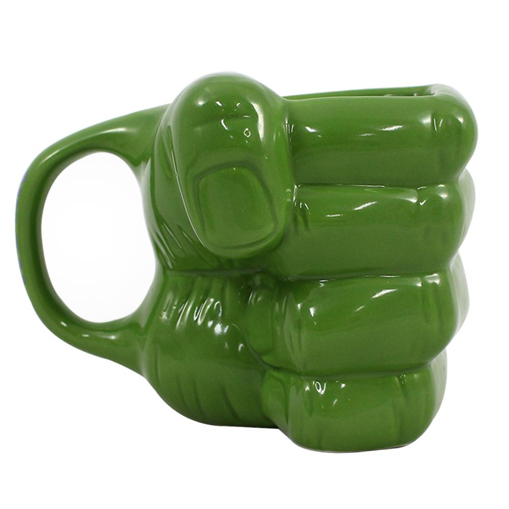 Caneca Formato Mão Hulk 3D MARVEL