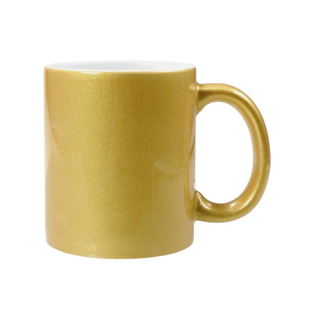 Caneca - Glitter Dourada Personalizada