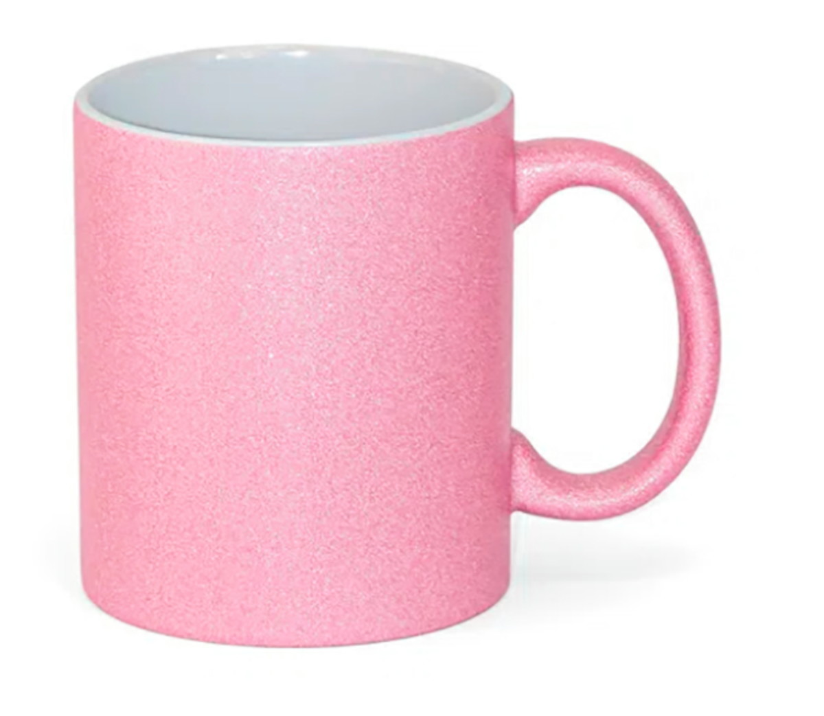 Caneca - Glitter Rosa Personalizada
