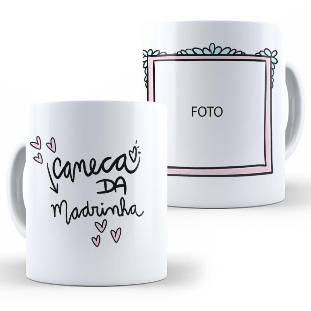 Caneca Porcelana com Foto - Caneca da Madrinha