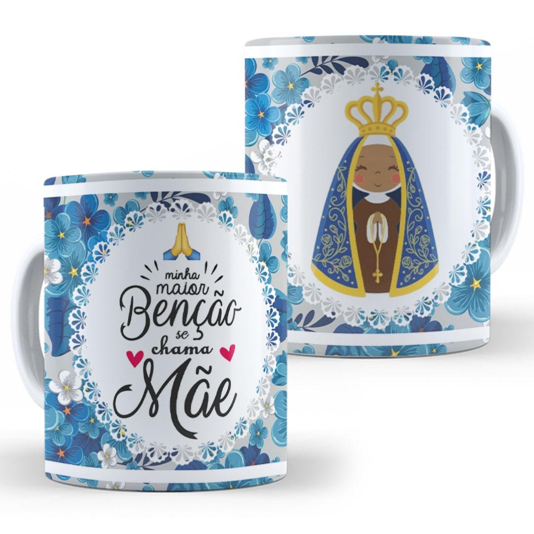 Caneca Porcelana - Mãe, Maior Benção
