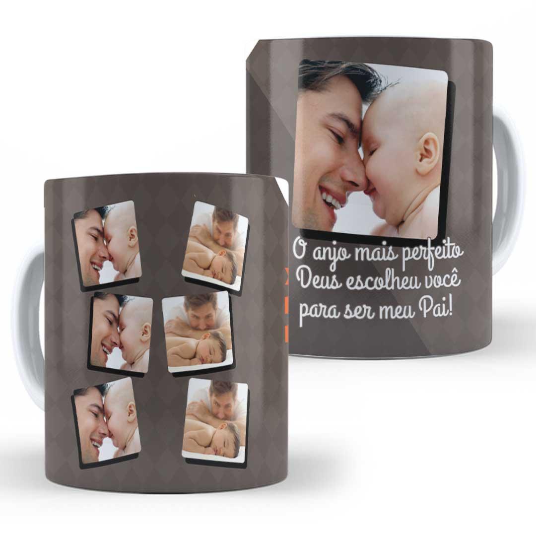 Caneca Porcelana com Foto - O Anjo Mais Perfeito