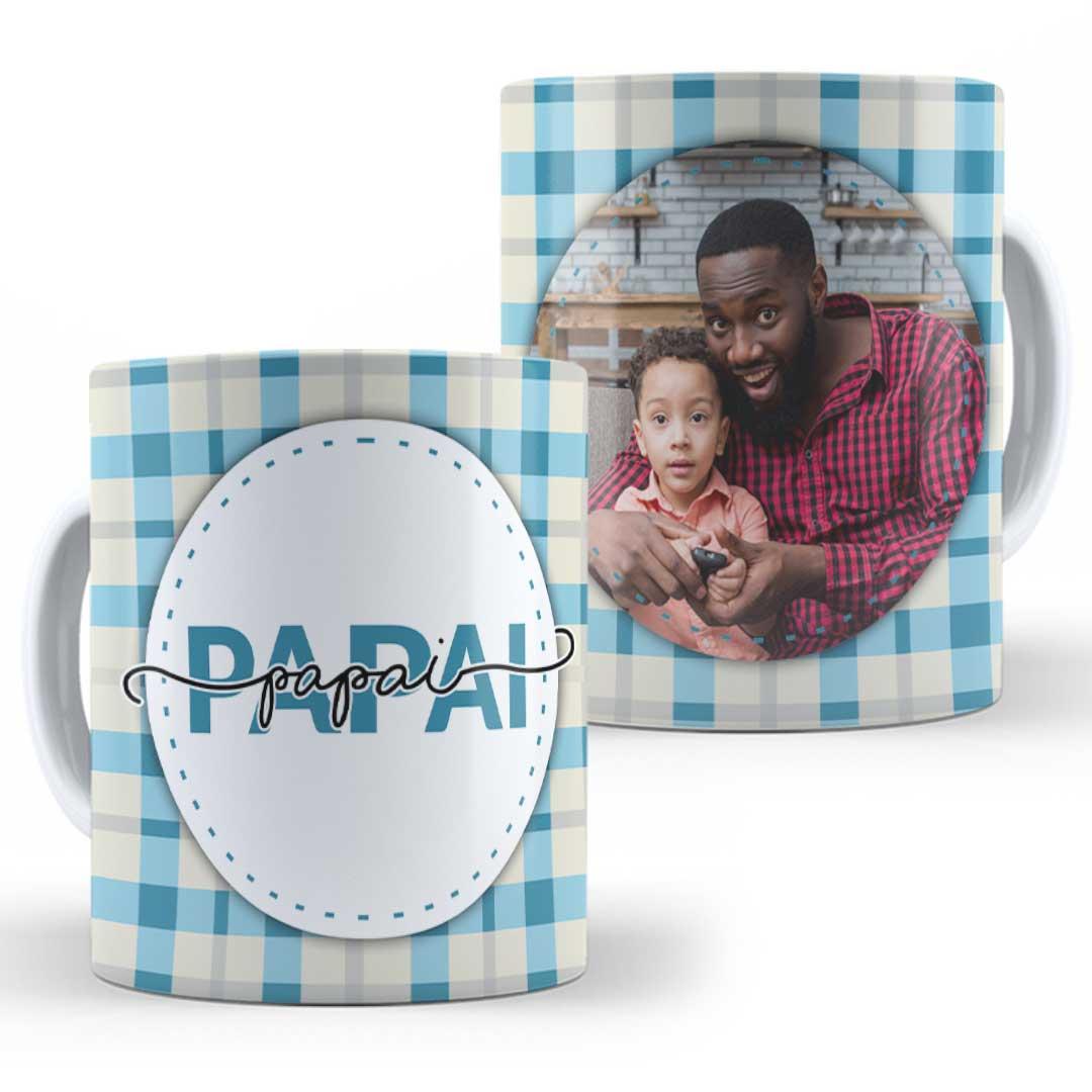 Caneca Porcelana com Foto - Papai