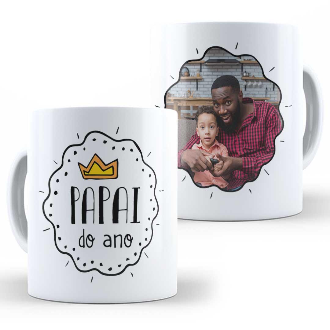 Caneca Porcelana com Foto - Papai do Ano