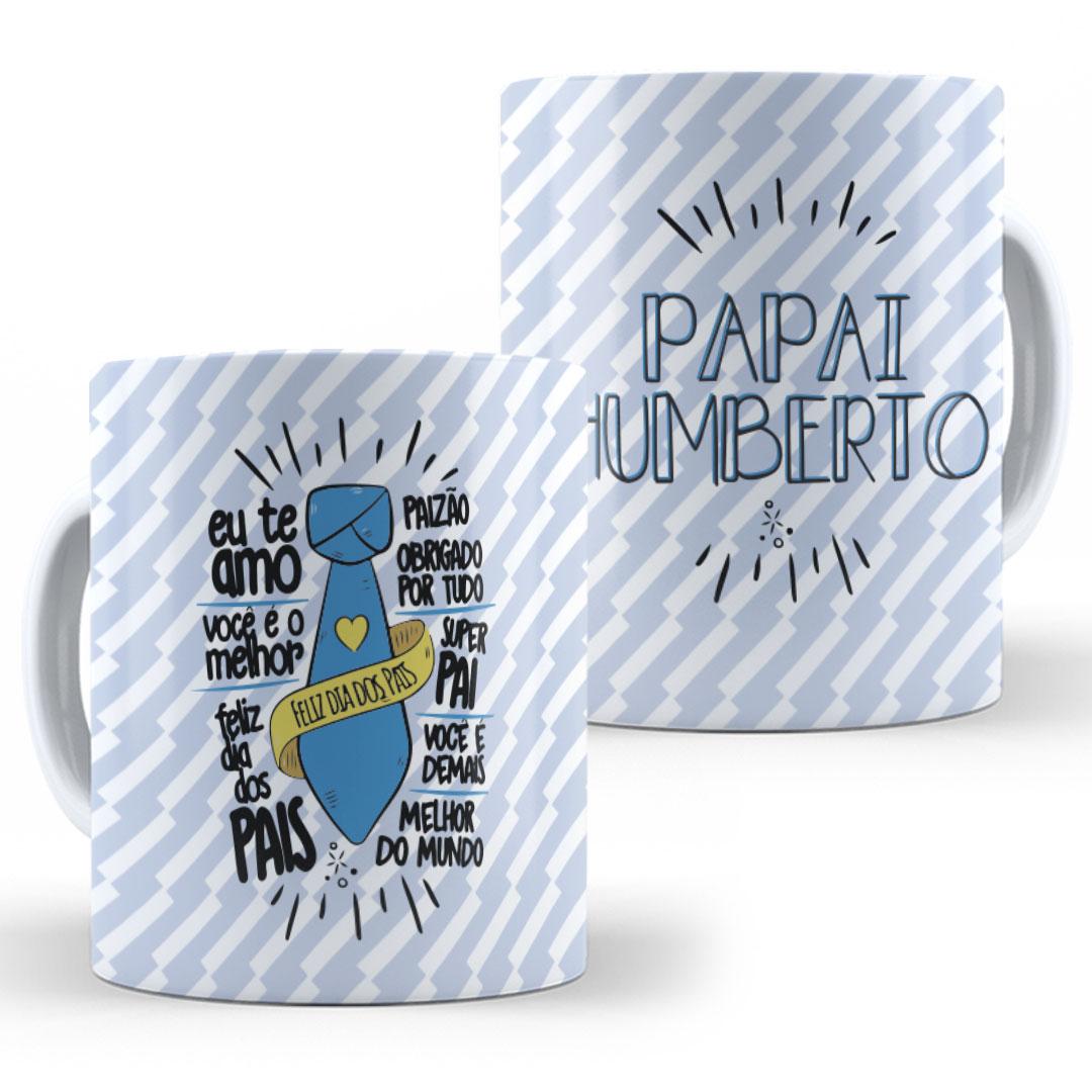 Caneca Porcelana com Nome - Dia dos Pais