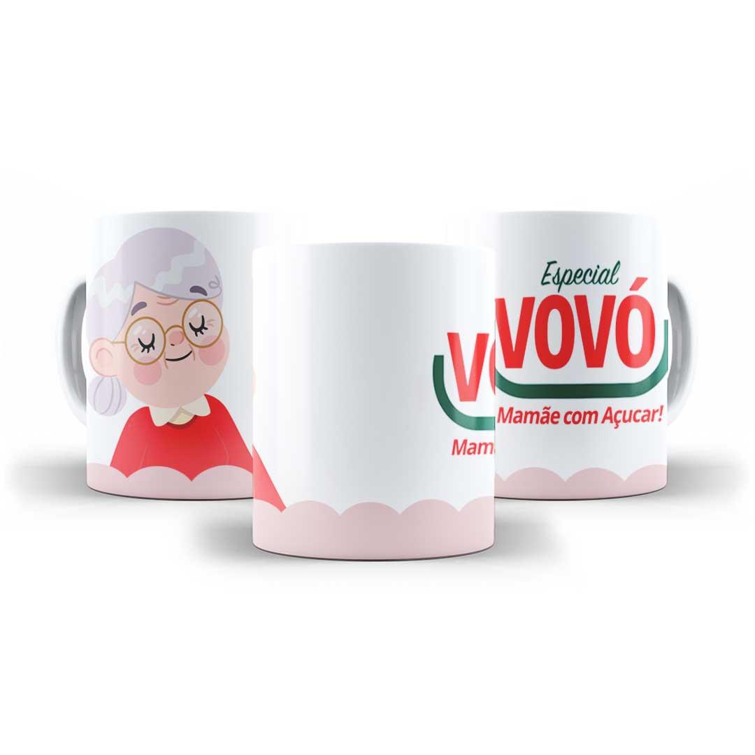 Caneca Porcelana - Especial Vovó