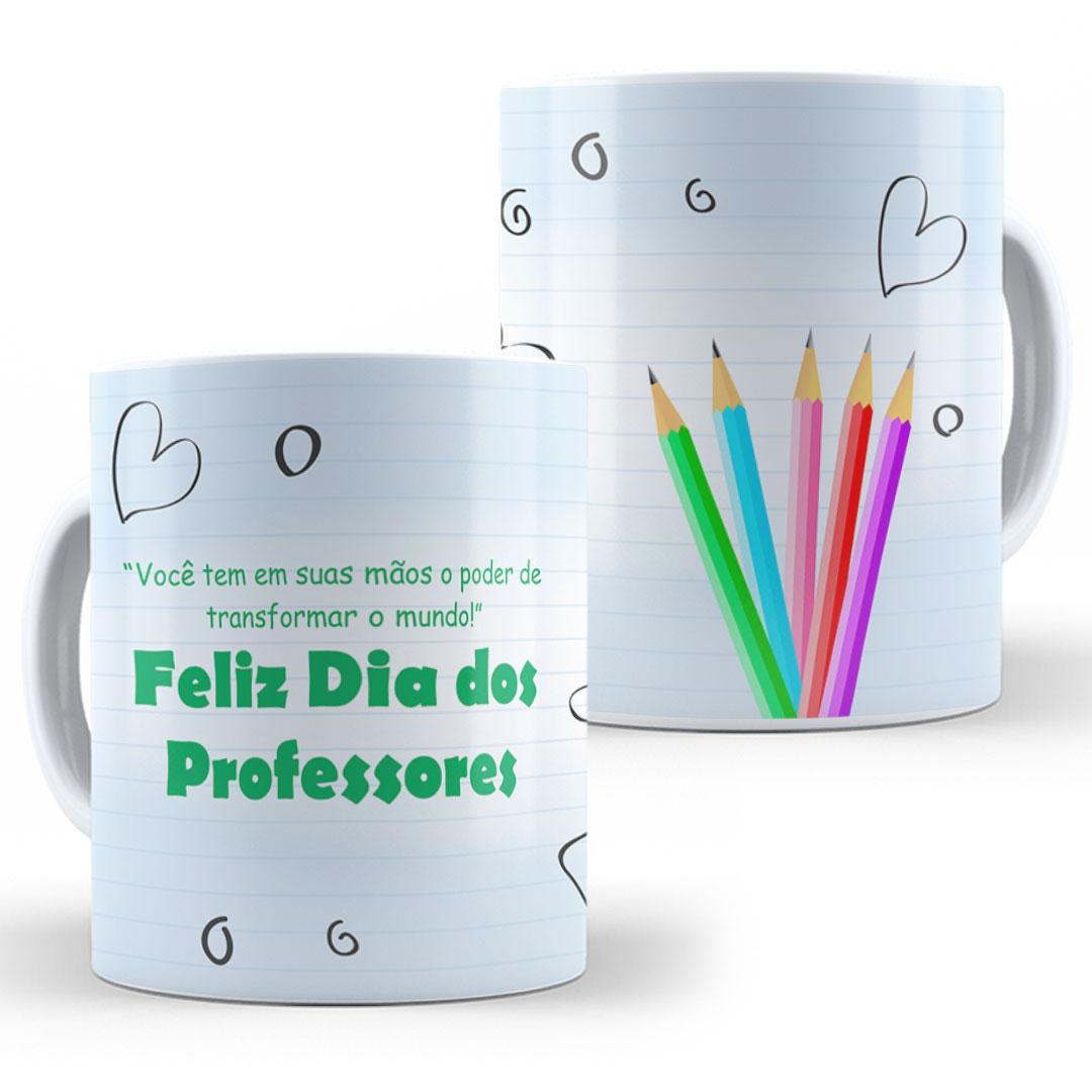 Caneca Porcelana - Feliz Dia dos Professores II