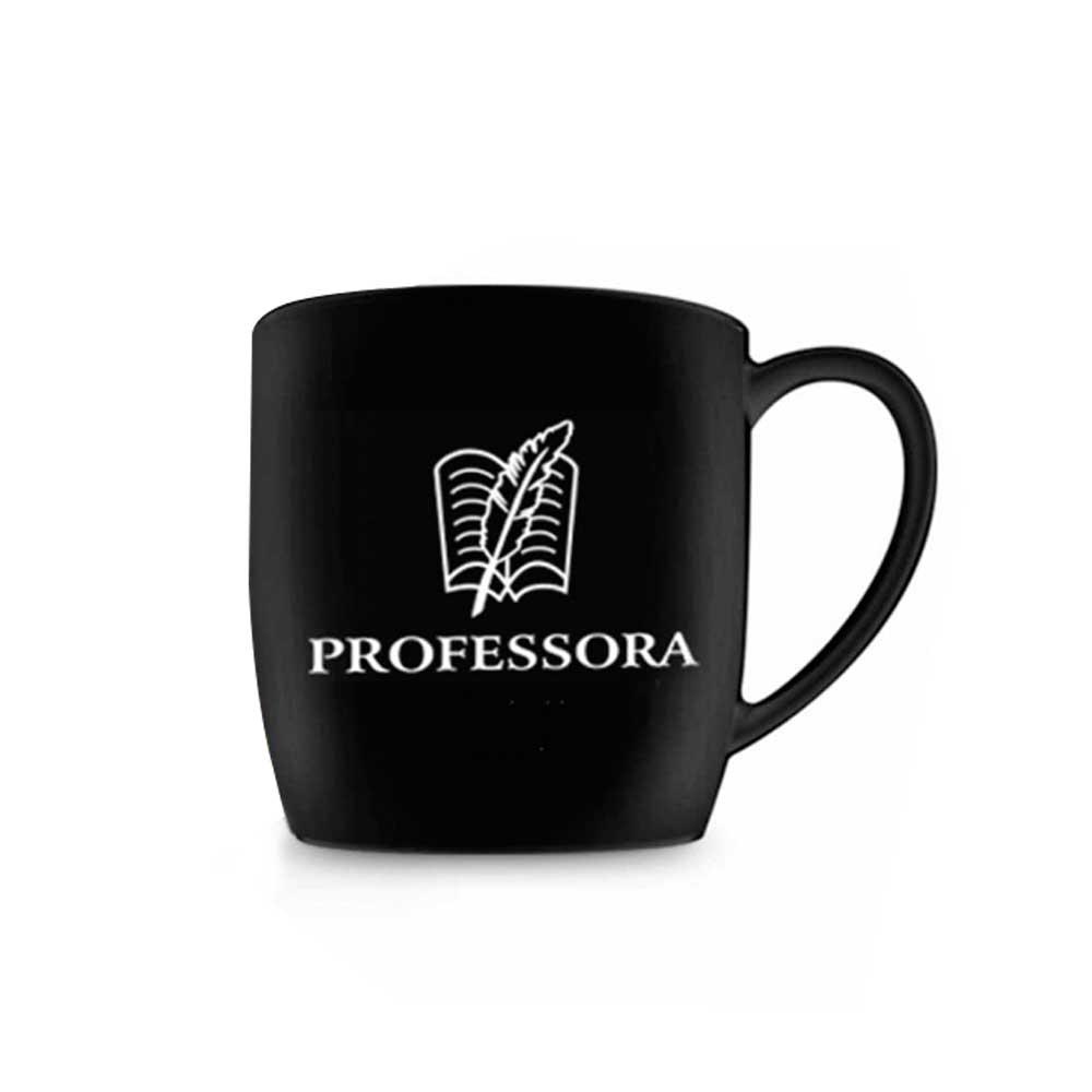 Caneca Porcelana Urban - Profissão | Professora 360ml