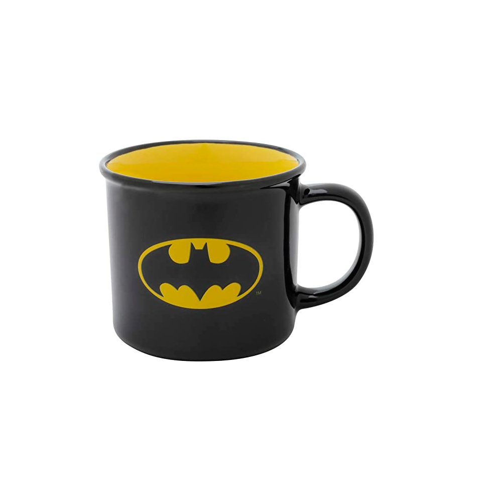 Caneca Preta Porcelana - Batman