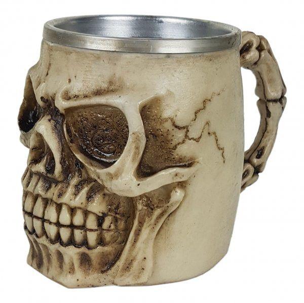 Caneca Resina - Caveira | Skull Head