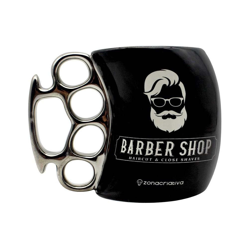 Caneca Soco Inglês - Barber Shop 350ml
