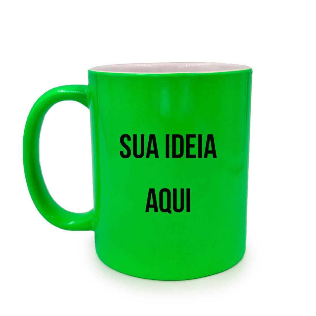 Caneca - Verde Neon Personalizada