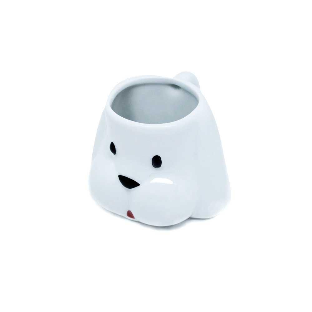 Caneco 3D - Cachorrinho Branco