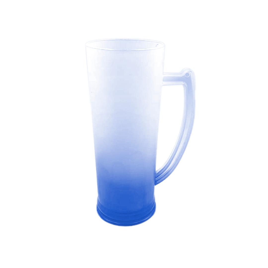 Caneco Long Drink com Alça - Degrade Azul