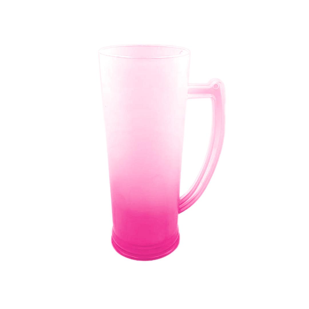 Caneco Long Drink com Alça - Degrade Rosa