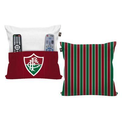 Capa de Almofada Com Porta Objetos Fluminense