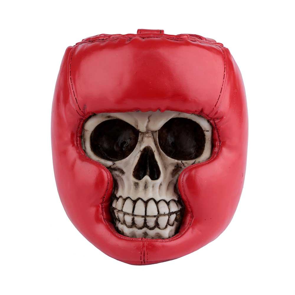 Caveira Resina - Boxe | Vermelho
