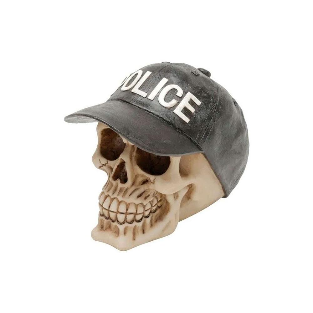 Caveira Resina - Police Cap