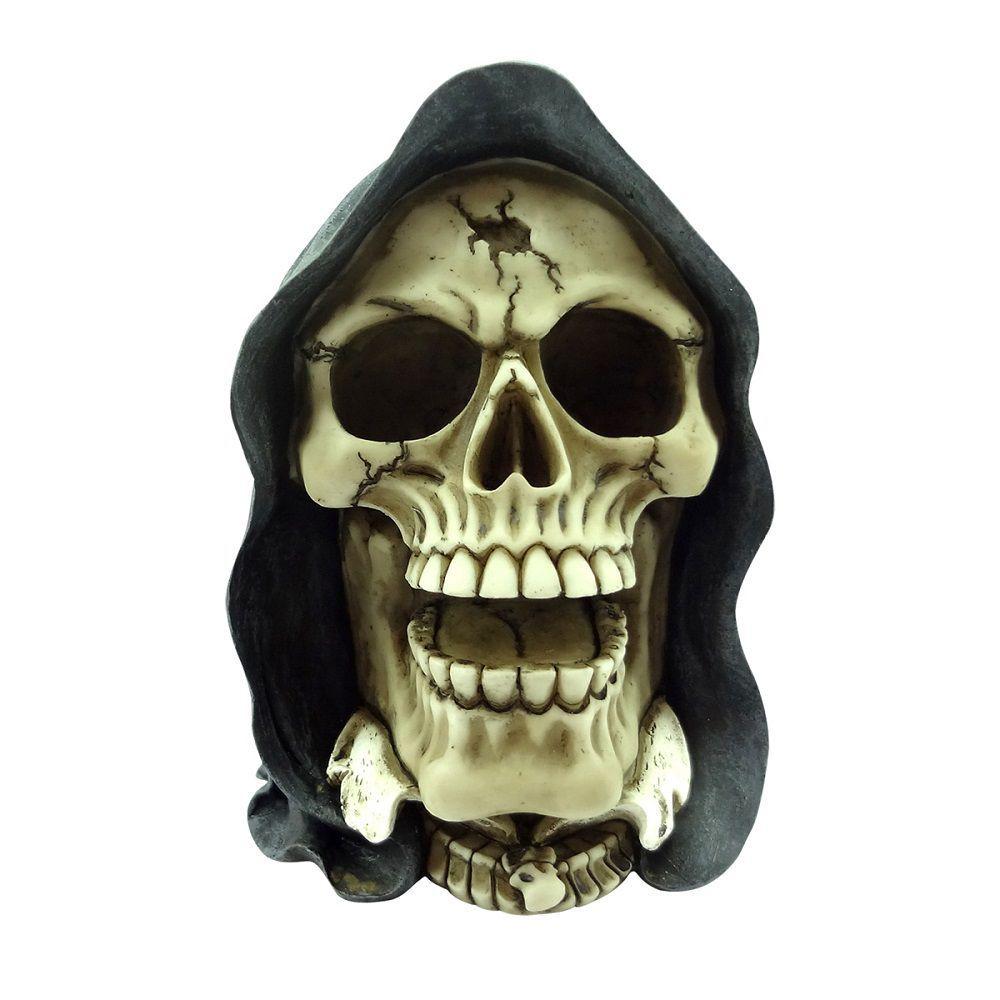 Caveira Resina - Skeletor Cap