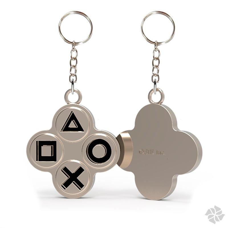 Chaveiro de Metal - Playstation   Botões