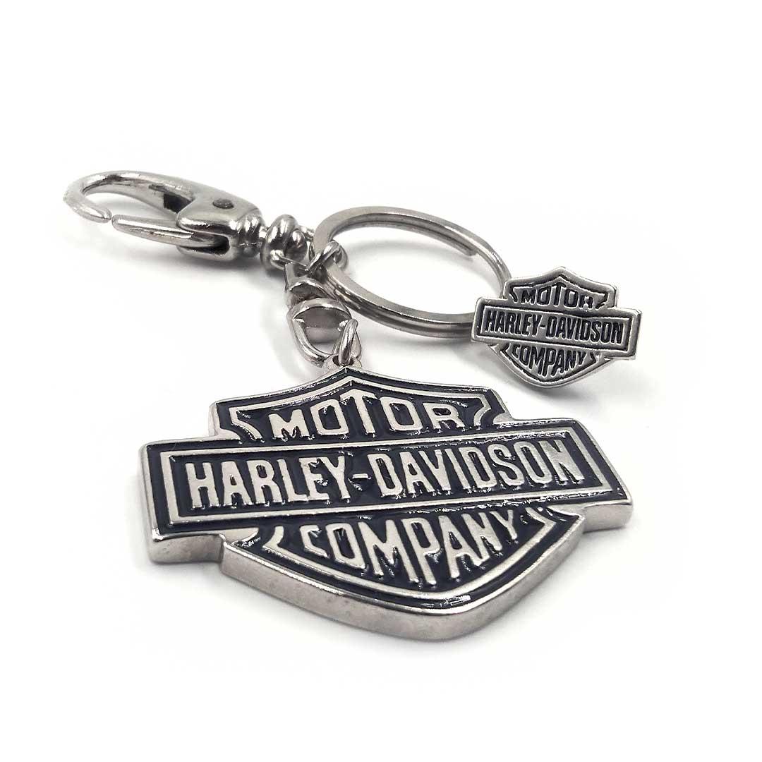 Chaveiro e Pin - Harley Davidson