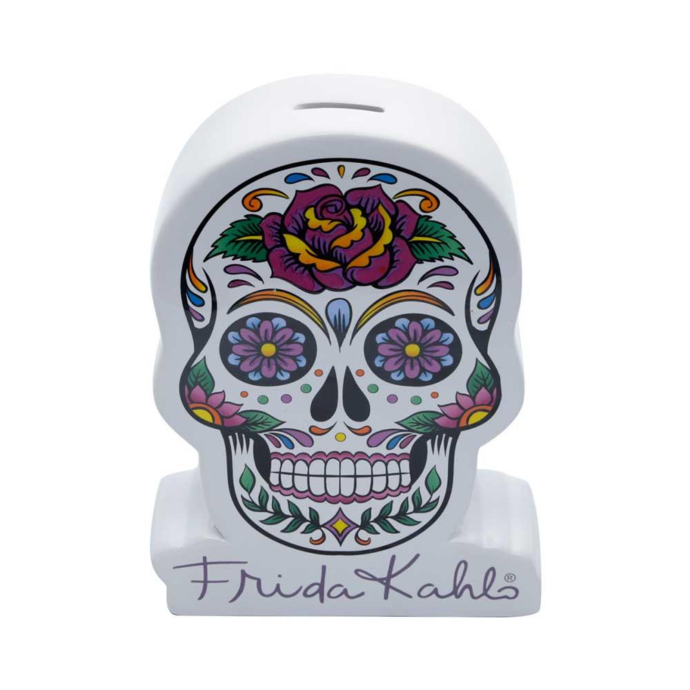 Cofre de Cerâmica - Frida Kahlo   Caveira Mexicana