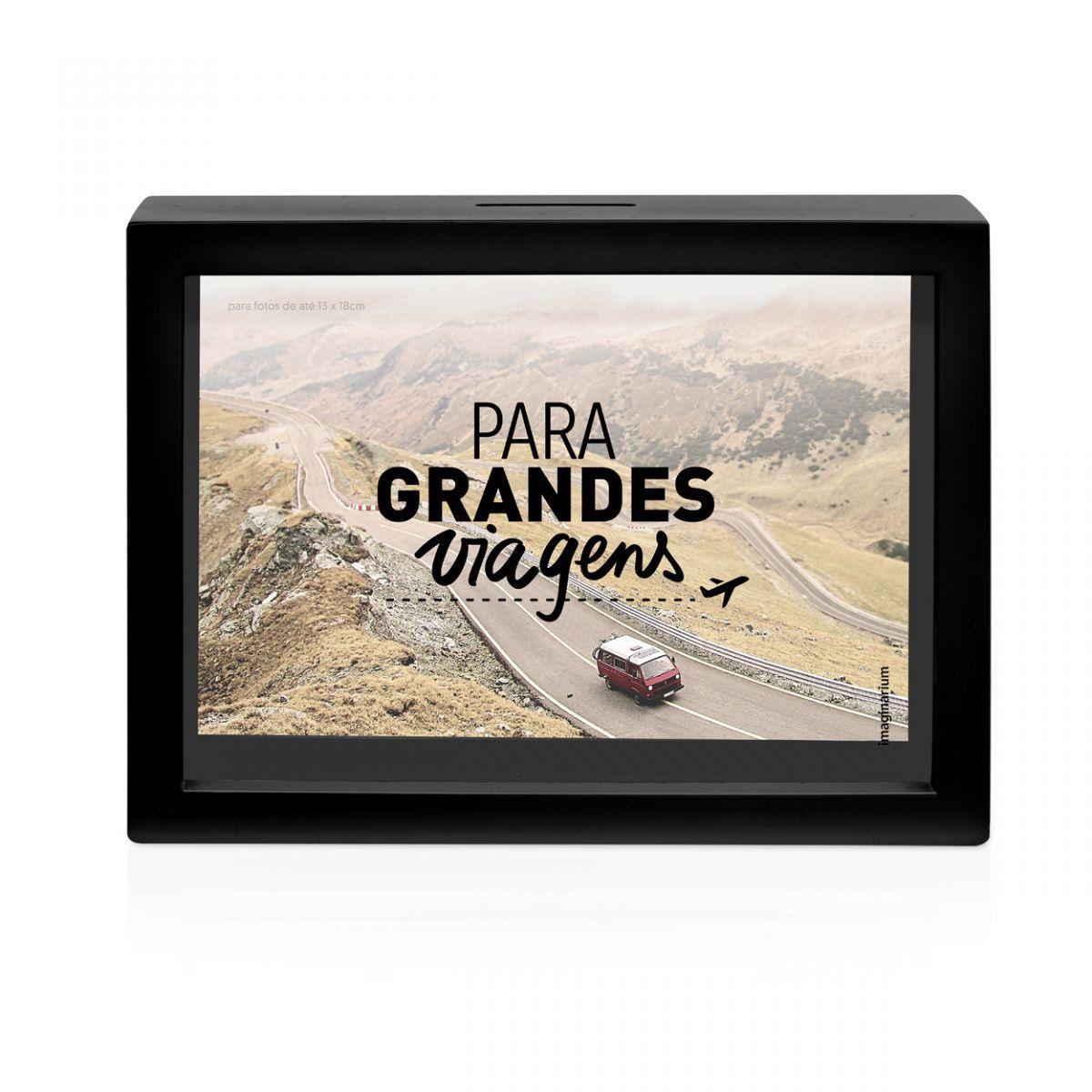 Cofre e Porta Retrato Grandes Viagens