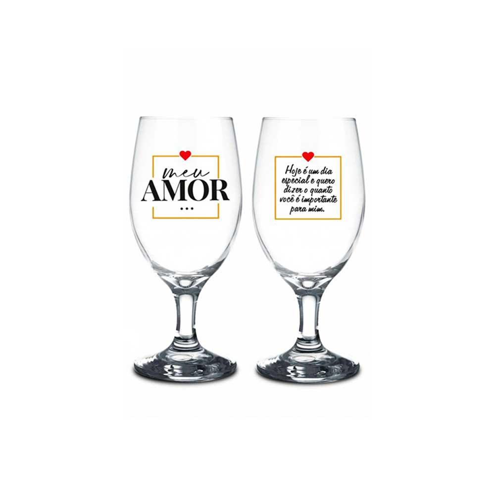 Conjunto 2 Taças Windsor - Meu Amor Dia Especial