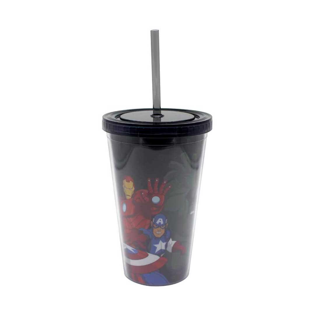 Copo com Canudo - Avengers