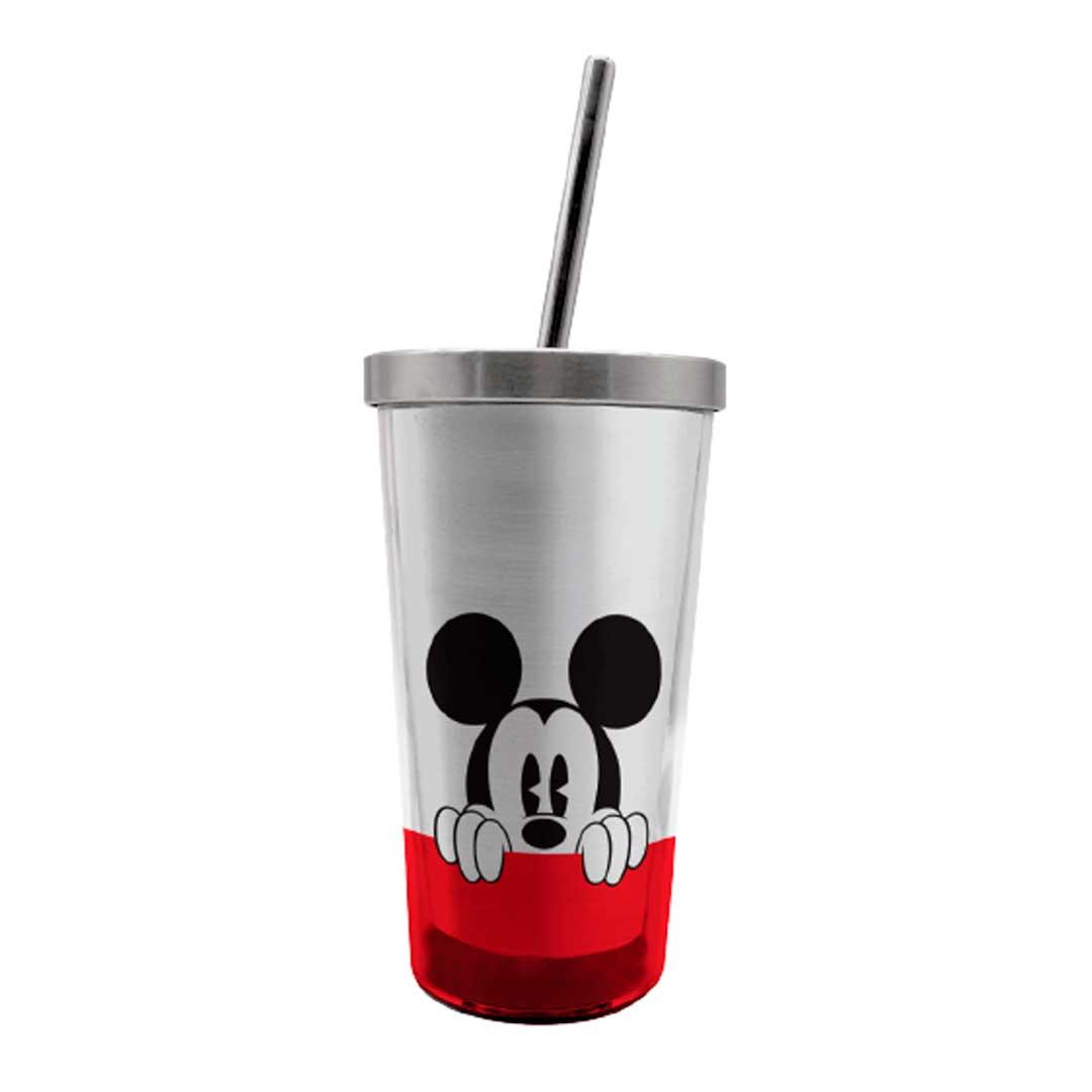 Copo com Canudo Eco - Mickey Escondido