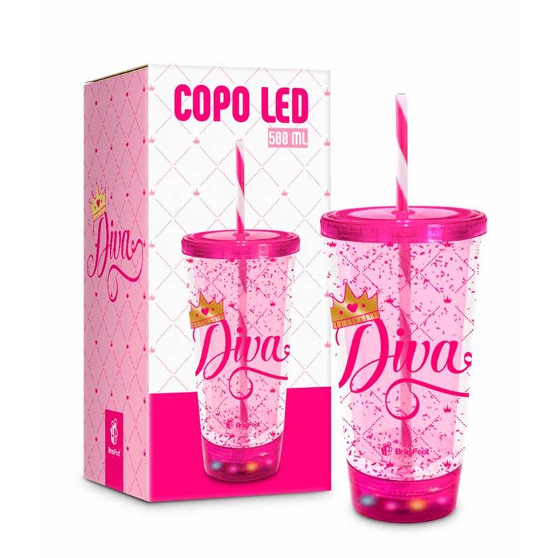 Copo com Led - Diva