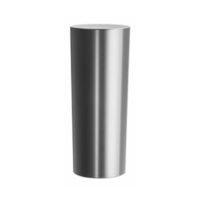 Copo Long Drink Metalizado - Prata Interior Branco