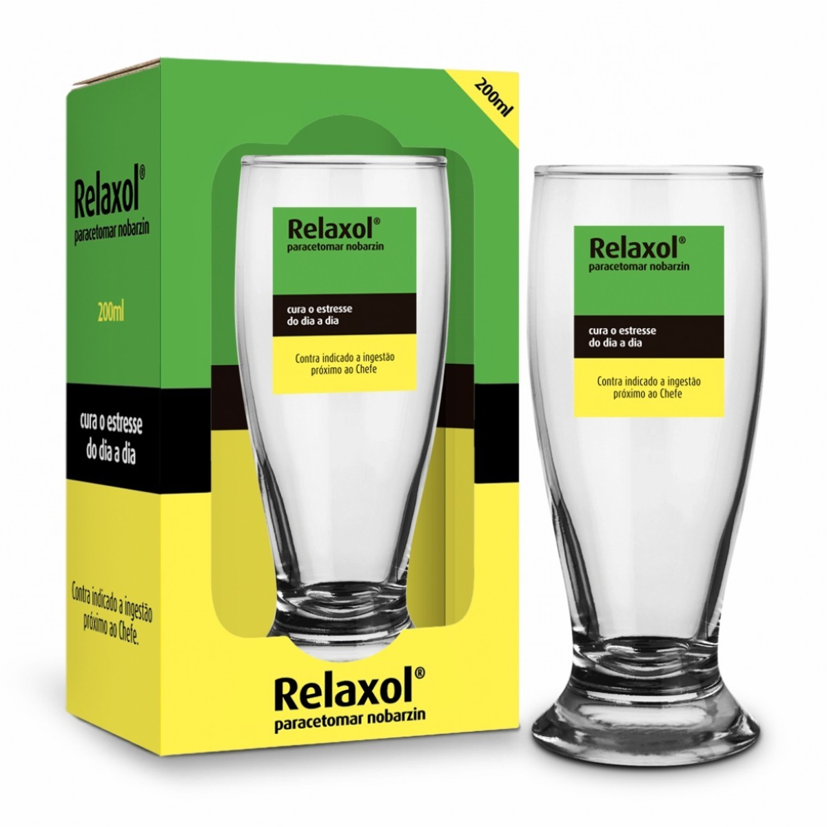Copo Munich 200ml - Remedio Relaxol