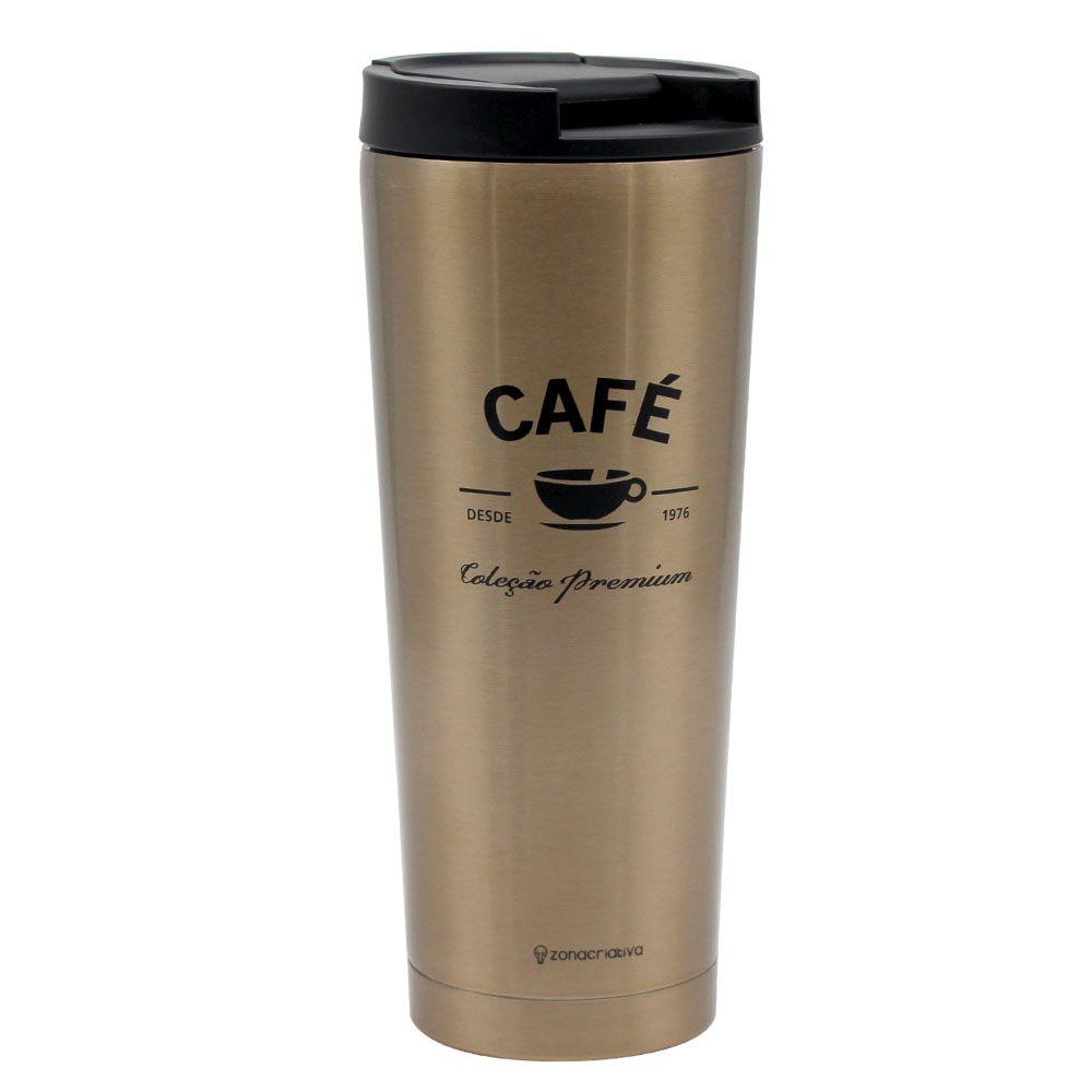 Copo Tumbler - Café Premium 400ml
